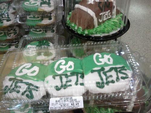 Desserts Just For Jets Fans.