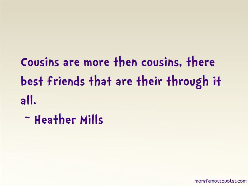 Quotes About Best Cousins Top 12 Best Cousins Quotes From Famous