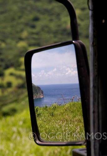 BP Batanes Mahatao Side View Mirror View