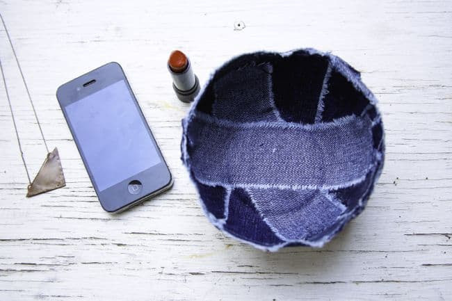 DIY Denim Bowl | Henry Happened