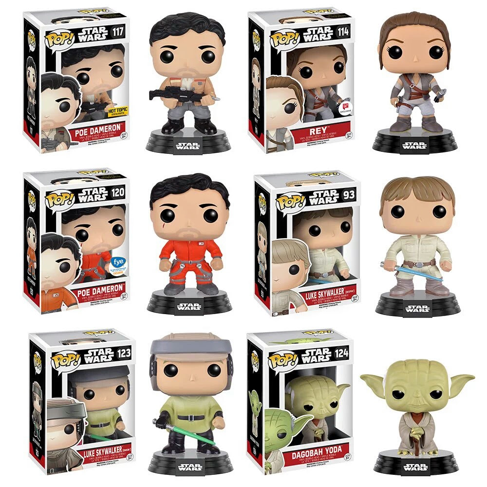 The Force Awakens Funko Pop Glam Shots & Purchasing Exclusives | Anakin and His Angel