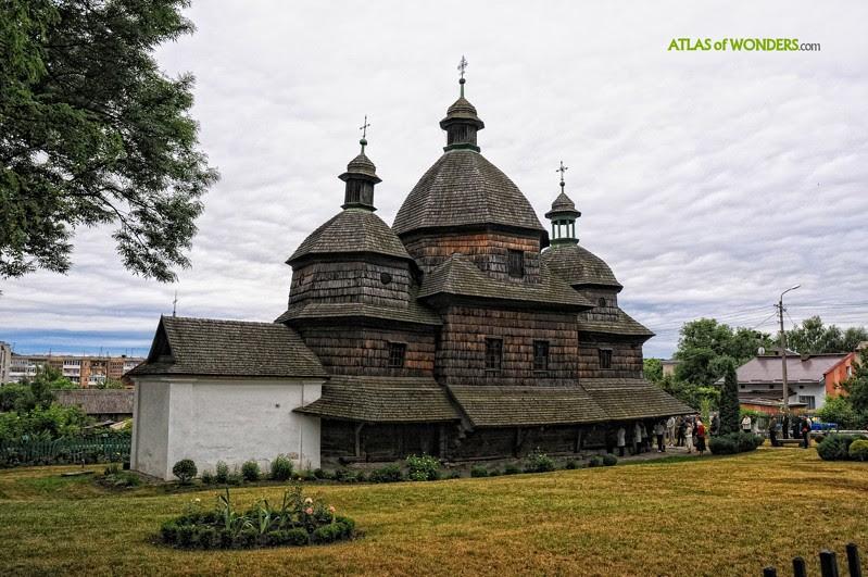 Деревянные церкви Польши и Украины