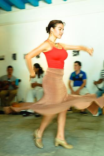 Ensayo de baile Flamenco