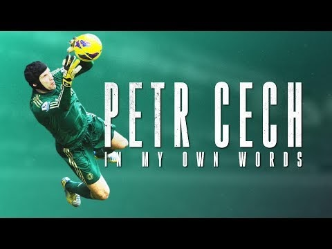 WONDERFUL EXPERIENCE Petr Cech: Former Chelsea and Arsenal goalkeeper joins ice hockey team Guildford Phoenix