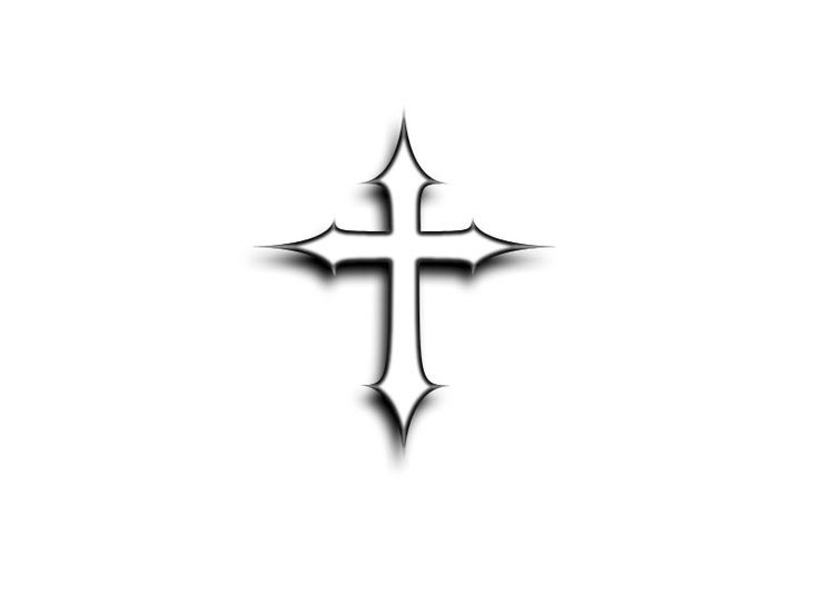 Simple Cross Tattoo Designs Cool Eyecatching Tatoos Clip Art Library