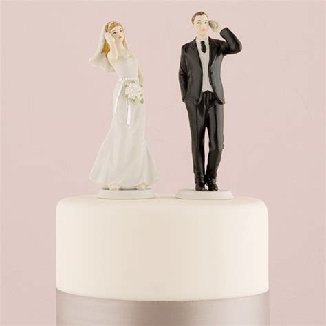 Cell Phone Fanatic Bride and Groom Mix & Match Cake