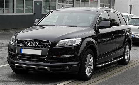 Audi Q7 history, photos on Better Parts LTD