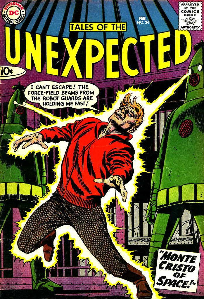 Tales of the Unexpected #34 (DC, 1959) Bob Brown cover