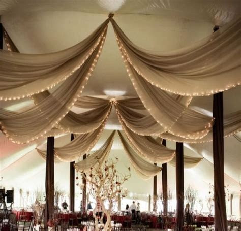 wedding tent decorations ceiling   Google Search   Wedding