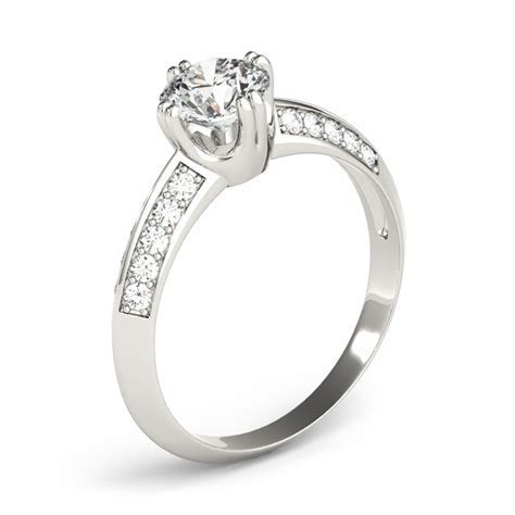 Knife Edge   Engagement Rings from MDC Diamonds NYC
