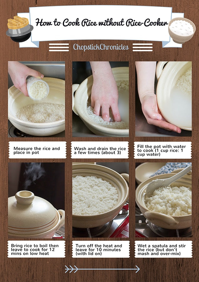 How to Cook Rice Without a Rice Cooker  Chopstick Chronicles