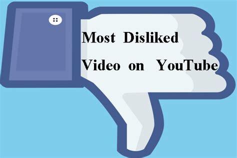 top   disliked video  youtube