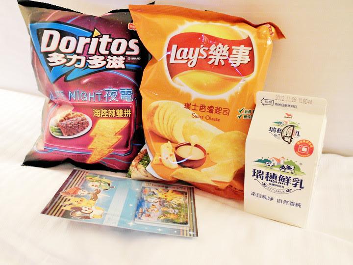 7-11 taipei buys chips and milk