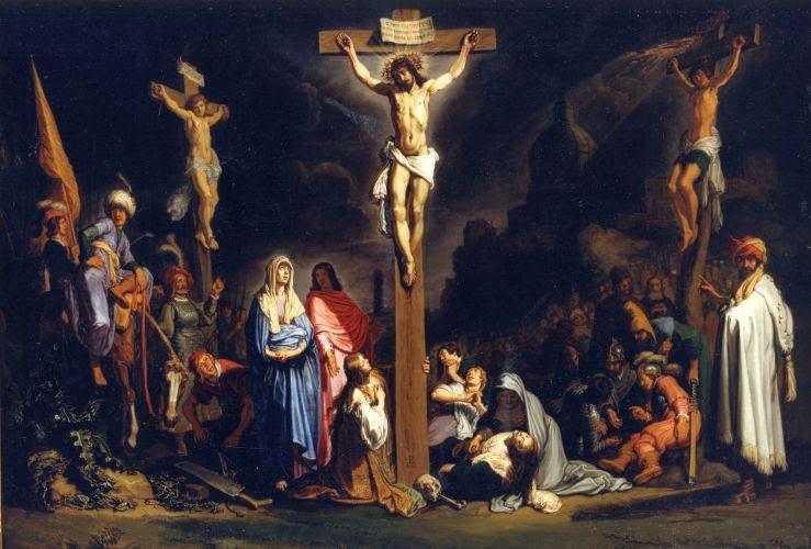 Crucifixion, by Nicolas Tournier, 1635