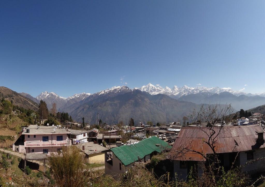 Munsyari, Uttarakhand India panorama