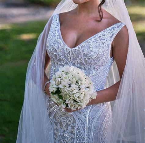 Paolo Sebastian Second Hand Wedding Dress on Sale 50% Off