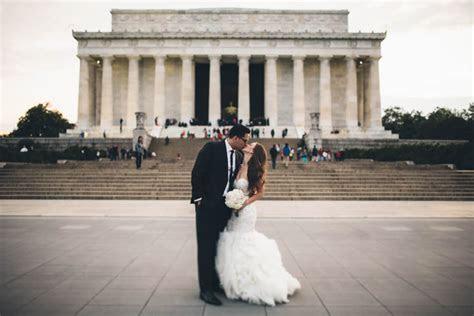Elegant Washington DC Wedding at Top of the Town   Junebug