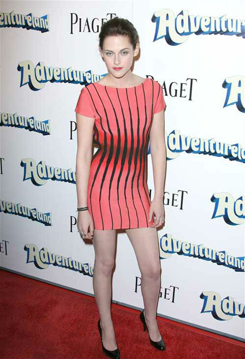 Kristen Stewart appears at the Los Angeles premiere of 'Adventureland' on March 16, 2009.