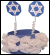 Hannukah<br />  Crown or Hat   : Hanukkah Crafts Activities for Jewish Children