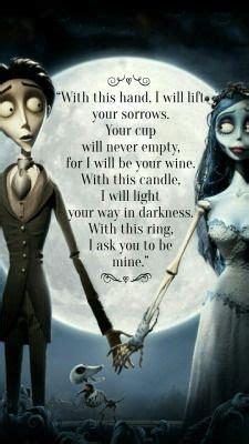 Best 25  Corpse bride quotes ideas on Pinterest   Corpse