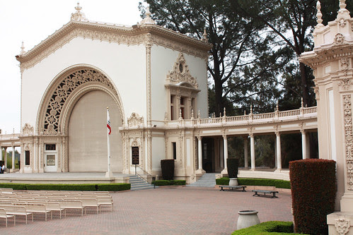 outdoor theatre in balboa park