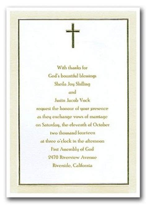 Christian wedding invitations wording   wedding ideas