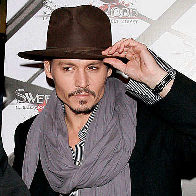 38 O estilo de Johnny Depp