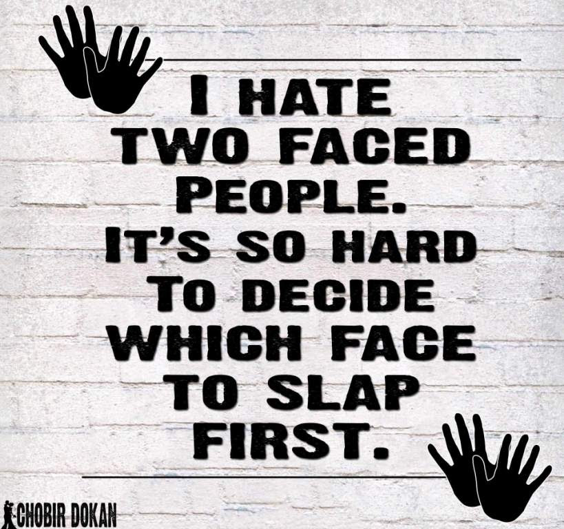 I Hate Two Faced Fake Relatives Quotes Quotesbae