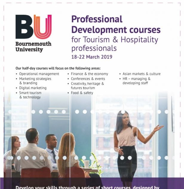 Bournemouth University Professional development courses for