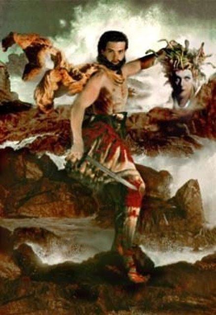 Perseo con la cabeza de la Medusa