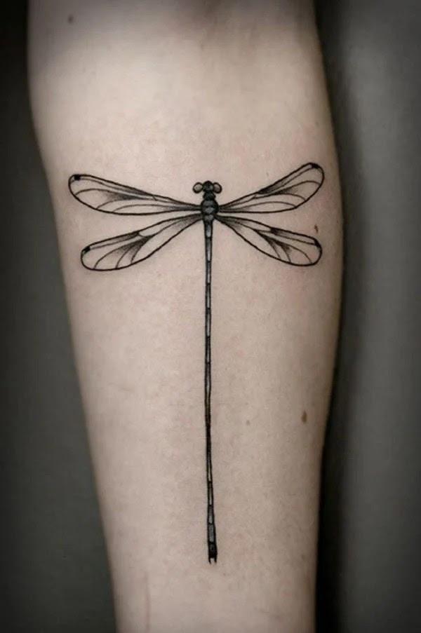 75 desenhos de tatuagem de libélula bonito e sexy 3 por Bryan