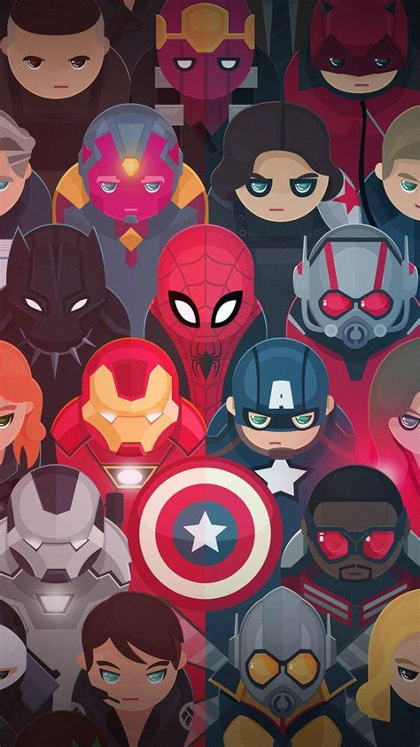 avengers tap    cute cartoon wallpapers