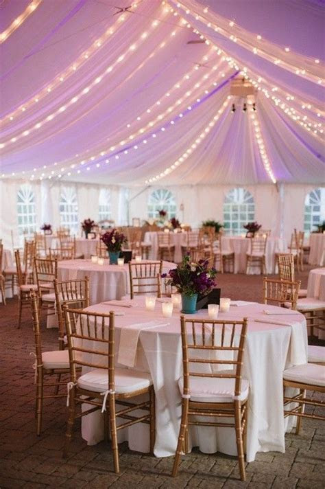Lavender wedding tent for beach wedding, wedding tent idea