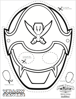 power ranger mask coloring pages at getdrawings  free