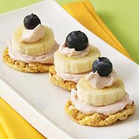 Blueberry-Banana Stacks
