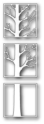 1413 Tree Triptych  craft die