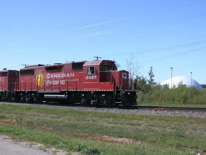 CP 3027 in Winnipeg