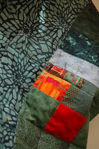 green quilt :: grønt teppe #2