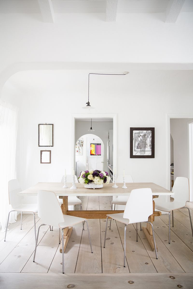 Gorgeous dining space