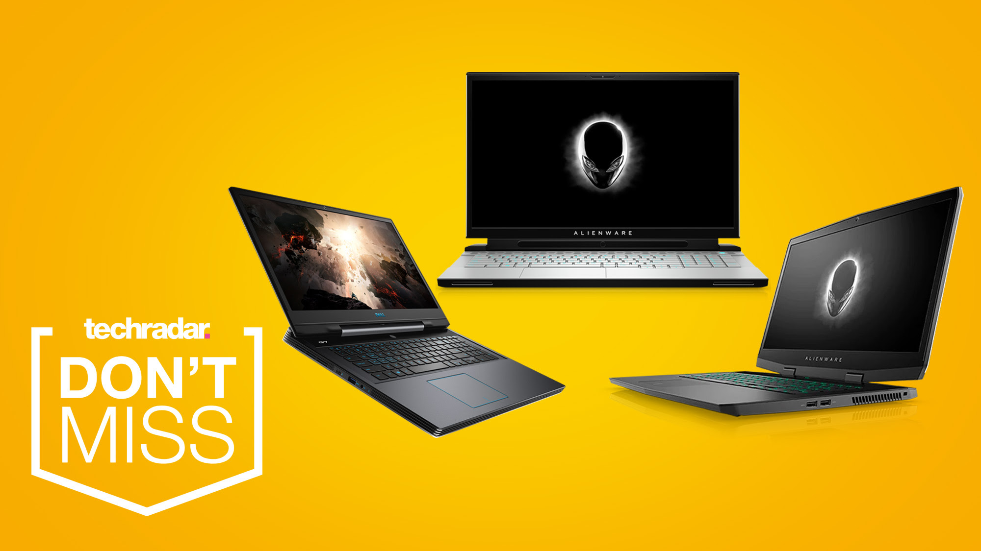 Save up to $750 on Alienware and G7 Dell gaming laptops this Cyber Monday