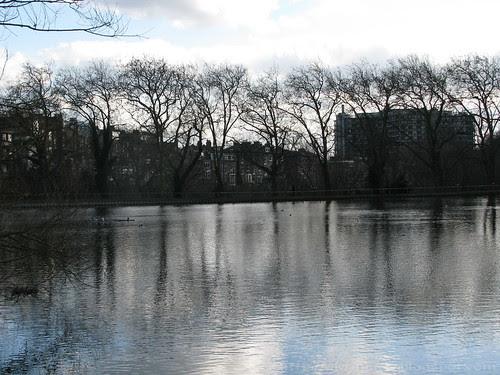Pond at Hampstead Heath
