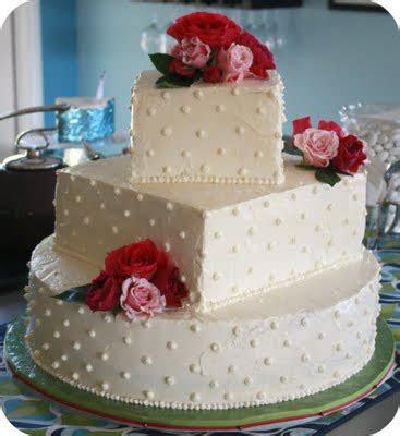 Three Tier Vegan Wedding Cake with Buttercream Frosting