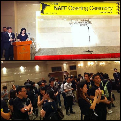 NAFF Opening Ceremony