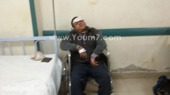 المصابين فى حادث انقلاب قطار ركاب بنى سويف (4)