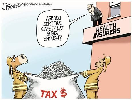 Obamacare, Cronyism, and Bailouts for Corrupt Health Insurance Companies