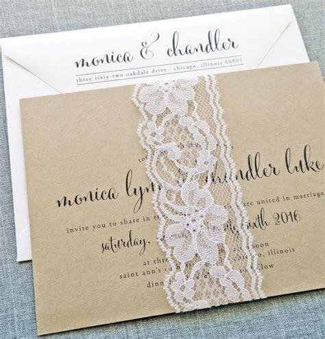 Monica Calligraphy Script Recycled Kraft Wedding