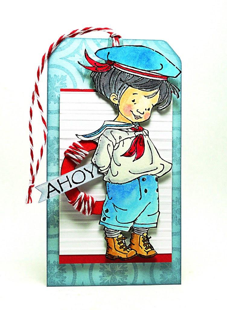 Sailor Boy Tag