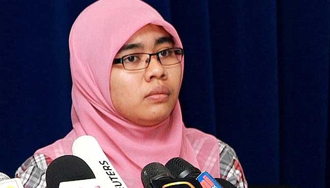 Image result for Siti Aishah, a PKR stalwart for the post of legislative assembly speaker