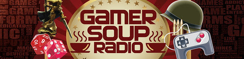 Gamer Soup Radio Banner
