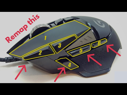 Gaming Mouse Button Mapping